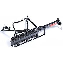 Aluminio Parrilla trasera bicicleta arrilla Portaequipajes Fácil instalación Ajustables Bicicleta Portaequipajes110 lb Teniendo