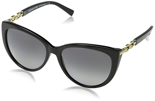 Michael Kors Damen MK2009 Gstaad Sonnenbrille, Schwarz (Black 3005T3), One size (Herstellergröße: 56)