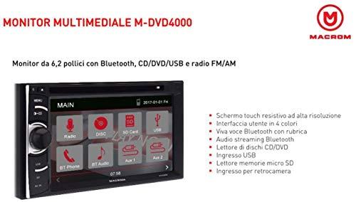 Zoom IMG-3 macrom m dvd4000 monitor 2