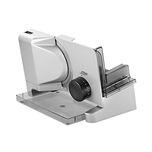 41WMsd y7CL. SS500  - ritter E 16 Electrical Food Slicer with eco Motor, Made in Germany, Metal, 65 W