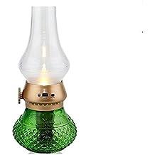 LED Lámpara de Petróleo Control de Soplar Retro Lampara Original con Reminiscencia Estilo Vintage