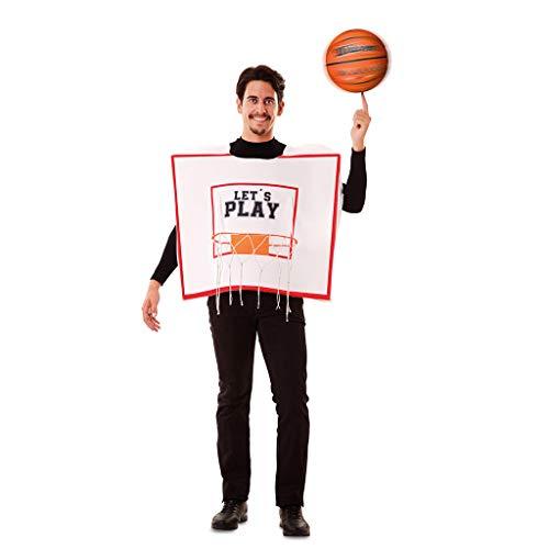 Kostüm Basketball - EUROCARNAVALES Basketball Korb Kostüm Basketballkorb Dunking Sport Herren