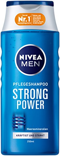 Nivea Men Strong Power Haar-Pflegeshampoo, 6er Pack (6 x 250 ml)