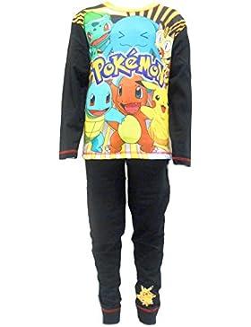 Pokemon Characters Jungen-Nachtwäsche Schlafanzug PJs