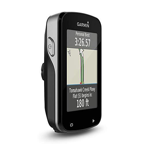 Garmin Edge 820 GPS Bike Computer Touchscreen con Bundle Cardio e Sensori Cadenza/Velocità, Mappa Europa, Smart Notification, Connessione ANT+ e WiFi, Nero/Grigio