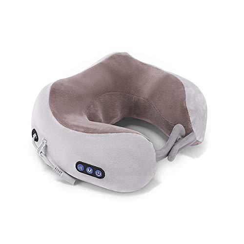 Amadon U-Förmiges Kissen - Büroauto-Reisemassagekissen, Intelligentes 3D-Massage-Nackenkissen, Lindert Schmerzen Und Müdigkeit - 10 Motor-massage-kissen