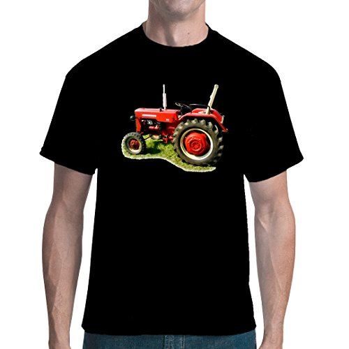 Im-Shirt Traktoren Unisex T Traktor Oldtimer McCormick by Schwarz XL