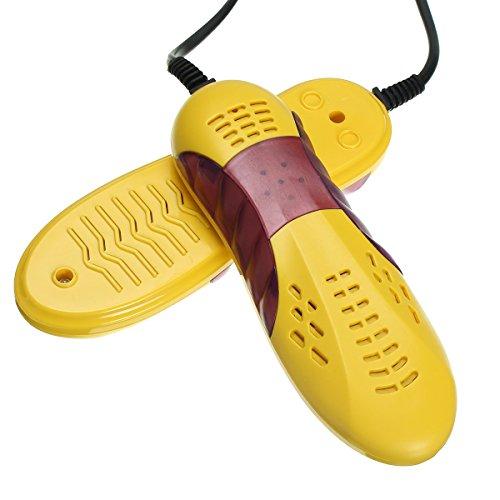 SAFETYON Schuhwärmer Schuhtrockner Elektrisch für Ski Skischuhe, Schuhheizung 65-80 Grad, 10W, Skischuhtrockner Kinder Erwachsene