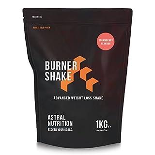 Burner Shake - Fat Burning Weight Loss Shake | Contributes to Metabolism | Suppresses Appetite | UK Manufactured | Money-Back Guarantee | (Strawberry, 1kg)