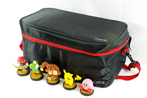 Storage and Carrying Case / Bag /Tashe For Disney Infinity Figures and Base (Xbox360/PS3/Wii/3DS/PC) - Black/