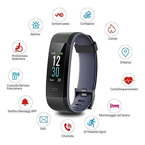 Zoom IMG-1 yamay orologio fitness tracker cardiofrequenzimetro