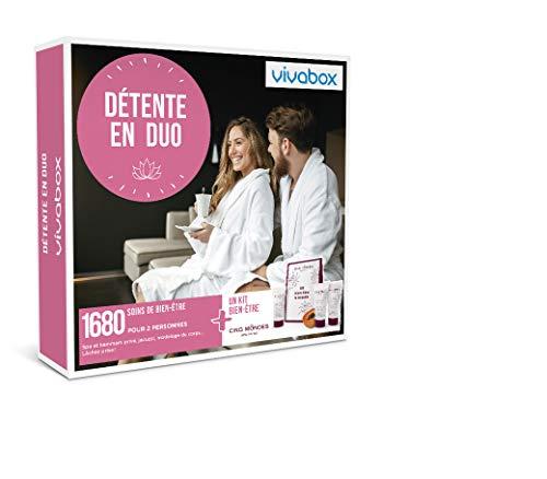 Vivabox - Coffret cadeau couple - DÉTENTE EN DUO - 1680 soins: spa, hammam,...