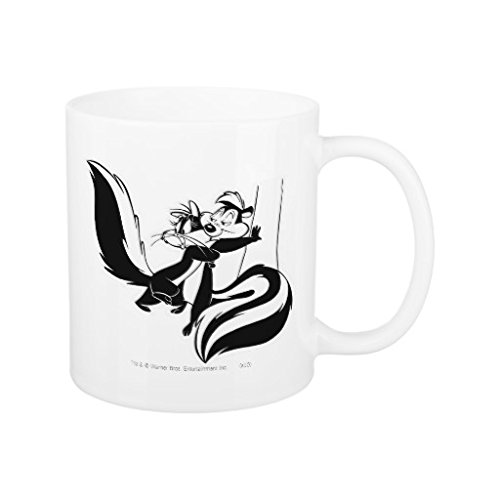 Gifts for dad 311,8 gram unico pepe le pew and penelope sarcasm tazza in ceramica papa per regali di natale, per festa di compleanno regali