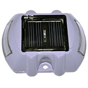 Itoit 6 LED Solar Power Lamp Outdoor Garden Road Driveway Pathway Path Security Light