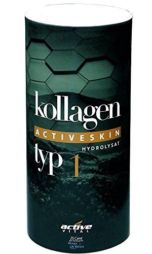 ACTIVEVITAL Kollagen-Hydrolysat-Pulver | Collagen speziell für HAUTVERJÜNGUNG | 500g | 200 Tagesvorrat