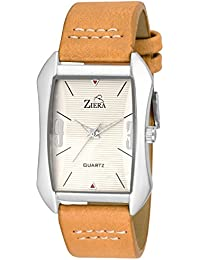 ZIERA ZR7038 LEATHER STRAP STYLISH Analog Watch - For Men