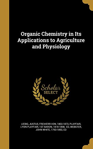 ORGANIC CHEMISTRY IN ITS APPLI