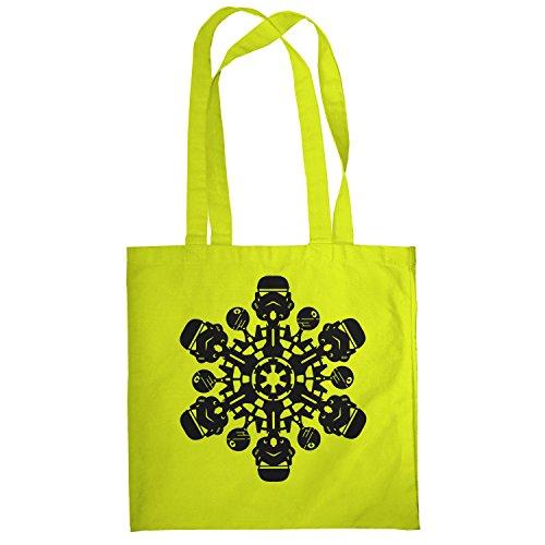 Texlab–Trooper Flakes–sacchetto di stoffa Gelb