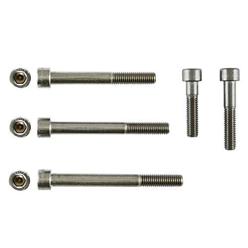 Preisvergleich Produktbild Zoro Selection – Zylinderkopf Schraube M5 x 80 mm A2 Edelstahl Hex Head DIN 912 Metrisches Paket 200 Stück