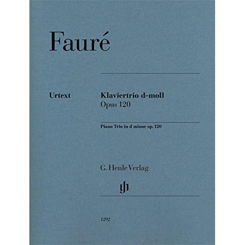 Trio Op.120 Re Mineur --- Violon / Violoncelle / Piano