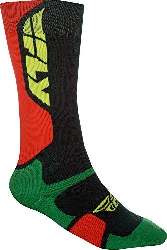 Fly Racing Motocross & Mountainbike Socken dick MX Pro grün-orange MX & MTB Socks L/XL