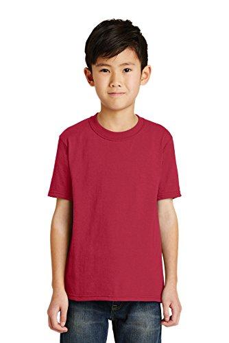 Port & Company Boys' 50/50 Cotton/Poly T Shirt - Pc55y Port