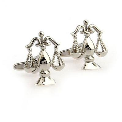 Ss Silver Scale of Justice Cufflinks  available at amazon for Rs.999