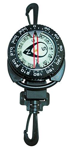 Aquatys Compas avec RETRACTEUR d'orientation Mixte Adulte, Noir