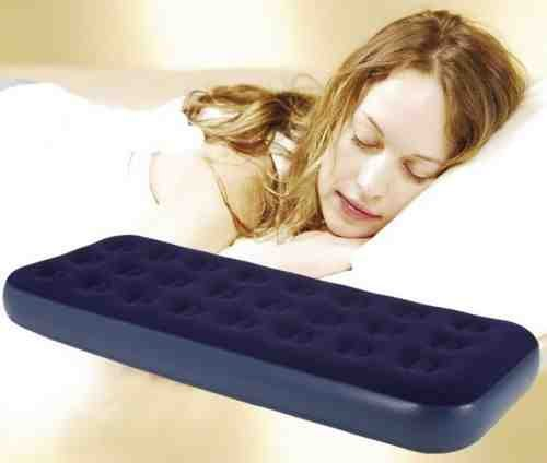 Single/Double Airbed Mattress Inflatable indoor/Outdoor Blow Up Sleeping Bed (single)
