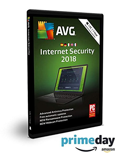 AVG Internet Security 2018 | 1 PC | 1 anno