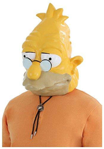Ghoulish Productions Grandpa Simpson Mask Standard (Bart Simpson Kinder Kostüm)