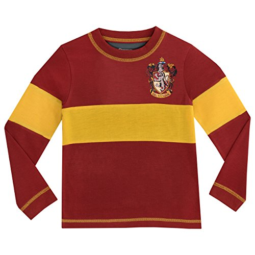 41WN1CnLE5L - Harry Potter - Pijama para Niños - Gryffindor - 10 - 11 Años