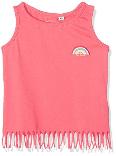TOM TAILOR TOM TAILOR für Babies, für Mädchen T-Shirts/Tops Top mit Fransen und Print Flashy Coral, 74