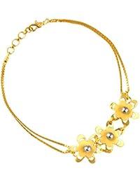 TBZ - The Original 22k Yellow Gold Charm Bracelet