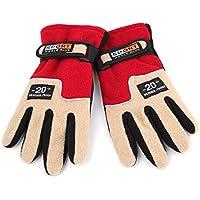 Lovelysunshiny Warme Polarfleece-Frauen-im Freienhandschuhe Herbst-Winter-weibliche Sport-Handschuhe