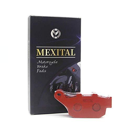 MEXITAL Pastiglie freno Ceramica organico Posteriore per TRIUMPH Tiger 800 X (XC/XR/XCX/XRX/XRT/XCA) (11-17)