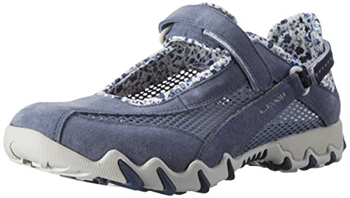 Mephisto Schuhe (Allrounder by Mephisto Damen NIRO Outdoor Fitnessschuhe, Blau Teal Coresuede O.Mesh 95, 41 EU)