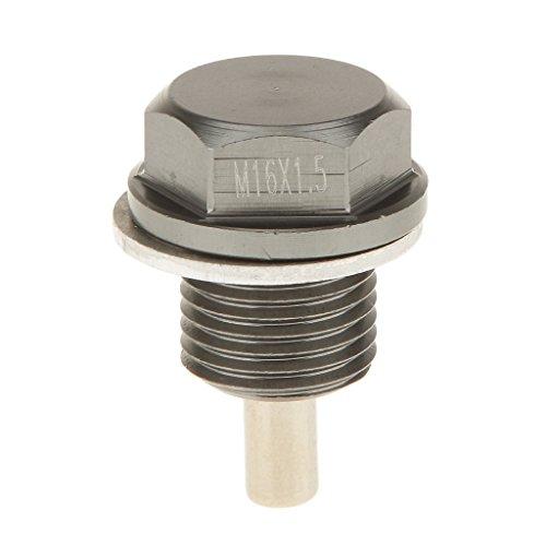 Homyl Magnetische Ölablassschraube Abfluss M16x1 Motorölwanne Stecker Reparatur-teil Motor Motorteile