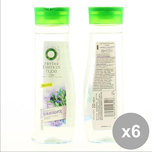 set-6-herbal-essence-shampoo-250-nude-idratante-capelli