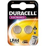 Duracell LR44 - Confezione di 2 pile a bottone alcaline