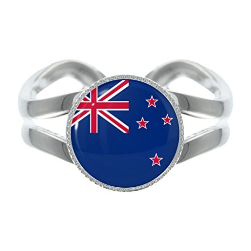 new-zealand-flag-design-silver-plated-adjustable-ring