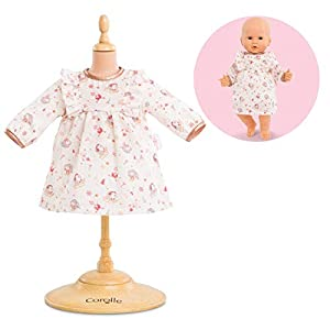 Corolle 140430 Accesorio para muñecas Vestido para muñecas - Accesorios para muñecas (Vestido para muñecas, Rosa, Blanco, Niño, Chica, 36 cm)