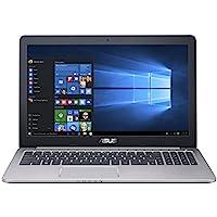 """ASUS K501UB-DM006T - Ordenador Portátil de 15.6""""  Full HD (Intel Core i7-6500U, 8 GB RAM, 1 TB HDD, Nvidia GeForce 940M de 2 GB, Windows 10 Home) Gris metal - Teclado QWERTY Español"""