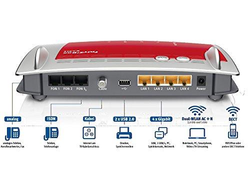 AVM-FRITZBox-6490-Cable-WLAN-AC-N-Router-DOCSIS-30-Kabelmodem-fr-Kabelanschluss-bis-1300-Mbits-5-GHz-VoIP-Telefonanlage-DECT-Basis