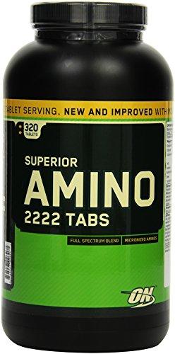 Optimum Nutrition Superior Amino 2222 320 Tabletten, 1er Pack (1 x 660 g) (Tabletten 2222 Amino)