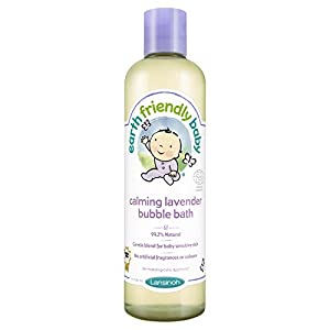 Earth Friendly Baby Children Bubble Bath Kids Calming Lavender 300 ml Ecocert