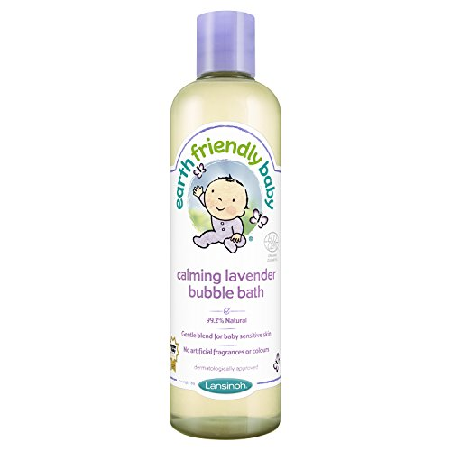 Earth Friendly Baby Children Bubble Bath Kids Calming Lavender 300 ml Ecocert