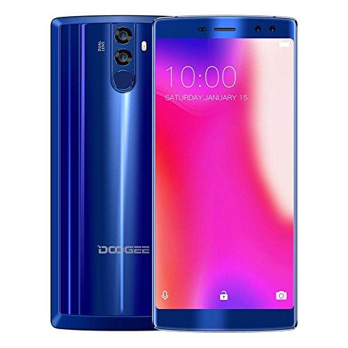 DOOGEE BL12000 4 G Smartphone, 6.0 '' FHD, MTK6750T Octa Core, 4 Go + 32 Go Double Caméras de dos + double avant Caméras,...