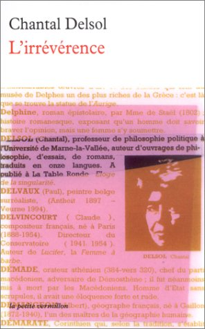 L'Irrévérence par Chantal Delsol