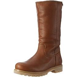 Panama Jack Bambina B11 - Botas Chukka de cuero mujer, color marrón, talla 37
